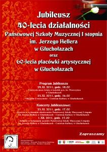 plakat jubileusz
