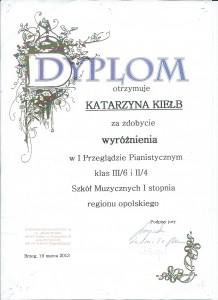 Kiełb Brzeg 2013