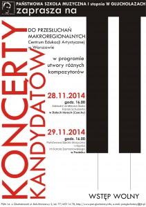 koncerty czechy i prudnik 11.2014