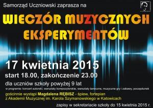 muzyczne eksperymenty 2015