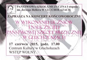 koncert koncowy 2015