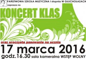 koncert klas I 2016