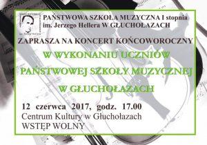 koncert końcoworoczny 2017.